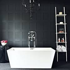 Black Bathroom Floor Tiles Black White Bathroom Decorating Ideas Retro Floor Tile Glamorous