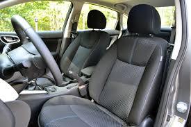 nissan sentra seat covers 2017 nissan sentra sr turbo review autoguide com news