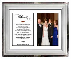 wedding gift to parents gifts for parents from or