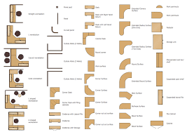 office floor plan symbols office layout software office furniture library for design layout