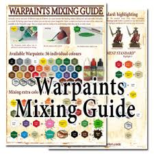 the army painter has pdf paint mixing guide online tabletop