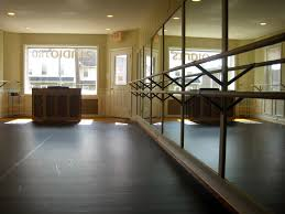 natural light floor l our dance space equipped with sprung wood floors and harlequin