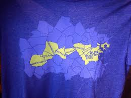 Map Of Boston Marathon Course by The Boston Marathon T Shirts 2013 Competitor Com