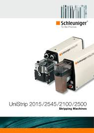 unistrip 2015 2100 2500 2545 pneumatic and electric wire