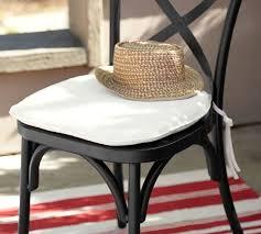 Small Bistro Chair Cushions Sunbrella Bistro Chair Barstool Cushion Pottery Barn