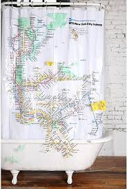 Shower Curtain Map Shower Curtains New York Lovely Home Interior Design Idea