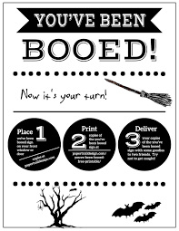 you ve been booed free printable signs paper trail design