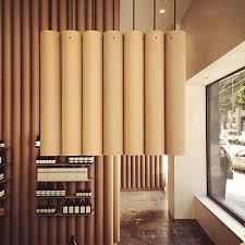 Modern Furniture Stores In La by Cardboard Tubes Have Been Used Throughout This Aesop Store In