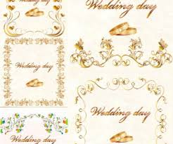 wedding ornaments vector free stock vector illustrations