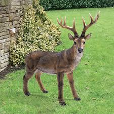 amazon com design toscano big rack buck deer statue patio