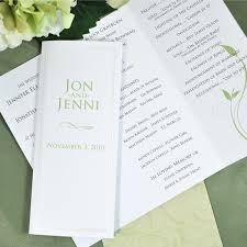 program paper 12 best wedding programs images on wedding fans