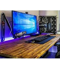 Pc Gaming Desk Impressive Pc Gaming Desk Setup The 25 Best Ideas About Gaming