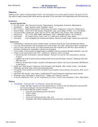 quality analyst cover letter best software testing cover letter