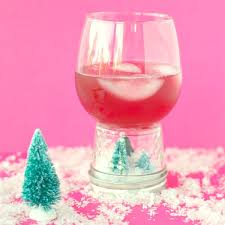 wine glass snow globes snow globe cups val event gal