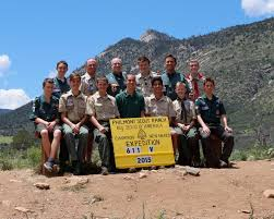 Philmont Scout Ranch Map 2015 Council Contingent 611 V Conquers Baldy Mountain The Boy