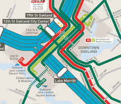 san francisco map downtown frequent network maps san francisco east bay human transit