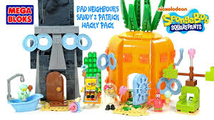 Seeking Season 1 Mega Mega Bloks Spongebob Squarepants Bad Neighbors Set