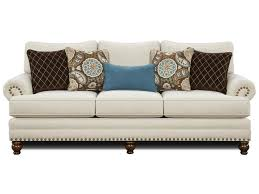 traditional sofas with skirts anna lee traditional sofa with nailhead trim ruby gordon furniture