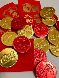 lunar new year envelopes new year envelopes foiled again chocolate coins