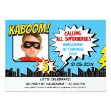 boys 5th birthday party invitations u0026 announcements zazzle co uk