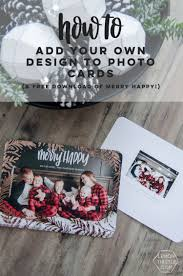 gold foil holiday cards adding your own design lemon thistle
