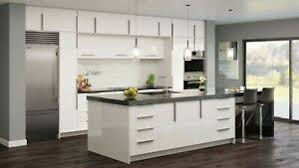 white contemporary kitchen cabinets gloss details about rta 10x10 contemporary palermo gloss white kitchen cabinets glossy slab door
