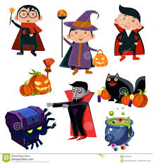 pics of happy halloween happy halloween set cute cartoon character costumes zombie