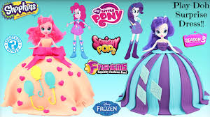 my little pony play doh surprise dress equestria girls pinkie
