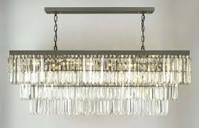 rectangular chandelier with shade u2013 eimat co