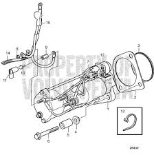 volvo penta exploded view schematic starter motor d6 280a a d6