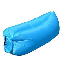 jessica v inflatable air lounger hangout beach couch sofa with