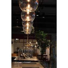 Glass Ceiling Pendant Light Clear Globe Hanging Ceiling Pendant Light Drop For High Ceilings