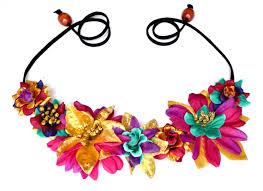 mardi gras headband gras flower crown floral headband hippie headpiece unique purple