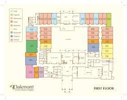 floor plans u2013 oakmont of san antonio heights