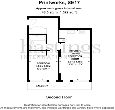 1 bedroom apartment for sale in the printworks 22 amelia street