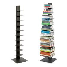 Replacement Shelves For Bookcase Book Shelf Anthracite Sapien Bookshelf The Container Store