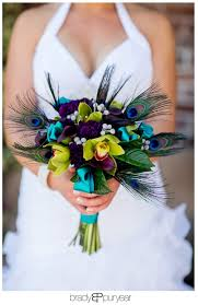peacock themed wedding trending peacock theme toned wedding colors