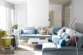 light blue couch light blue and black living room leather sofas