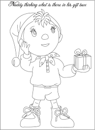 noddy coloring pages download print free