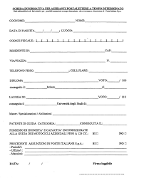 curriculum vitae formato pdf da compilare curriculum da compilare a mano curriculum vitae 2018