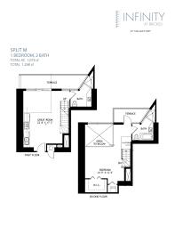 infinity at brickell floor plans floorplans split superb javiwj