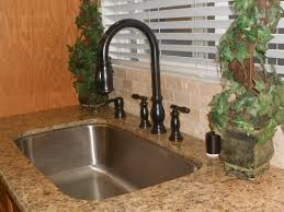 bronze faucets for kitchen stainless steel sink bronze faucet sink ideas