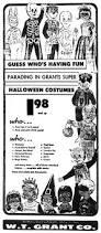 vintage halloween cartoons brady u0027s lorain county nostalgia 1960 woolworth u0027s and w t grant
