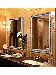 How To Frame A Large Bathroom Mirror by Bathroom Mirrors Amazon Com
