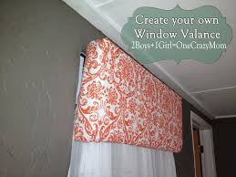 make your own hanging l make your own diy window valance in no time an no sew 2 boys 1