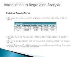 Linear Regression Table Data Science Part Iv Regression Analysis U0026 Anova