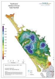 Climate Map National And Regional Climate Maps Niwa