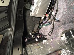 completed custom subwoofer amp speaker install with pics and