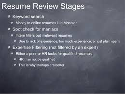 Online Resume Review by How To Get A Job As A Front End Developer