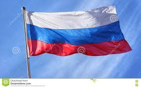 Eussian Flag Russian Flag On Flagpole Stock Image Image Of Wind Russian